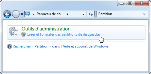 Search Partition