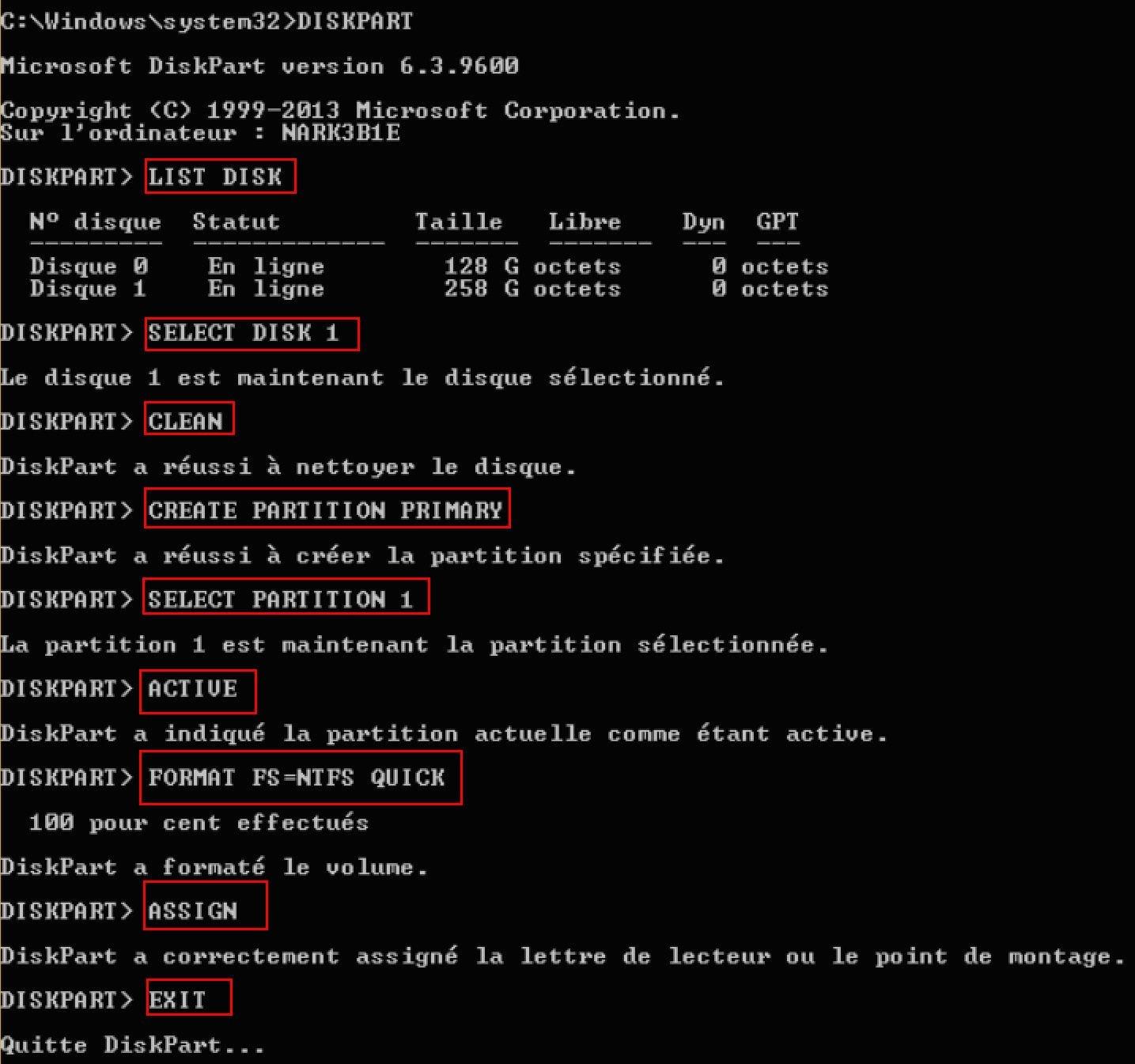 comment installer windows 10 sur le disque dur externe facilement avec un logiciel tiers fort