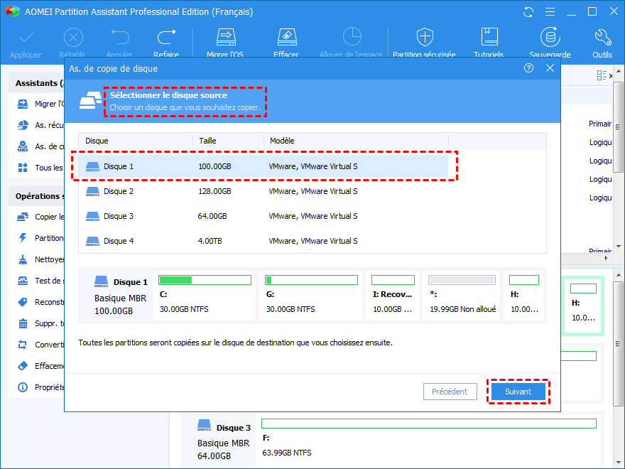 Select Server 2008 boot drive