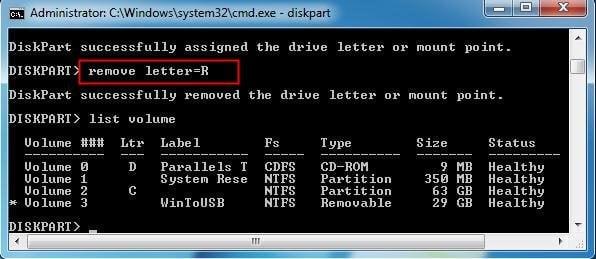 Remove Letter