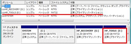 HP HDD