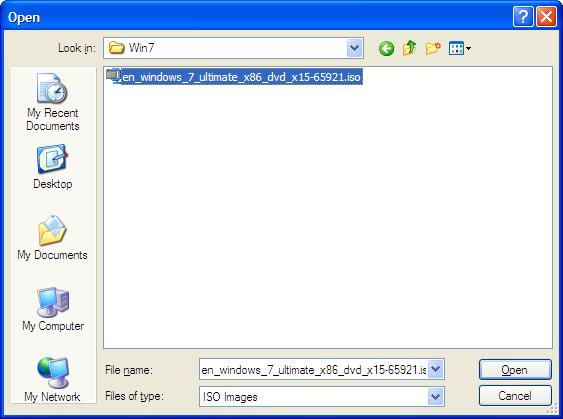 Backup ISO