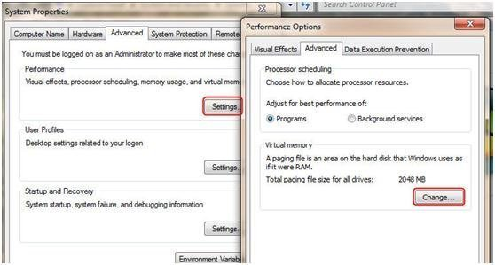 Disable Page Files