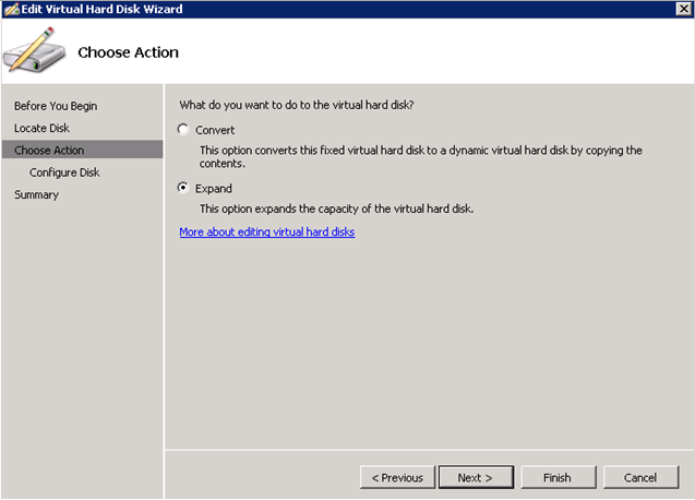 How to Help Hyper-V Increase Virtual Disk Size?