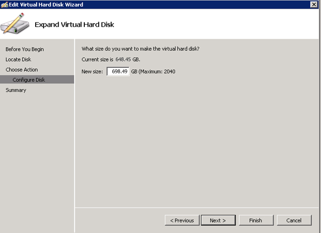 Edit Virtual Hard Disk
