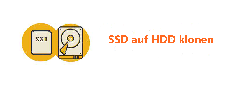 SSD auf HDD klonen