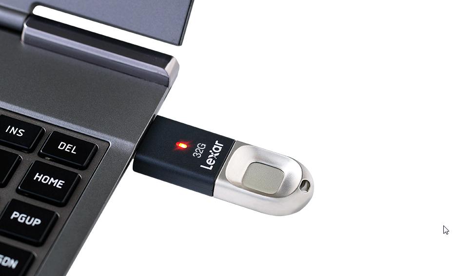 Lexar USB-Stick formatieren