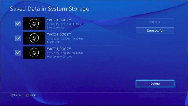 How To Free Up Space On Playstation 4 Four Methods
