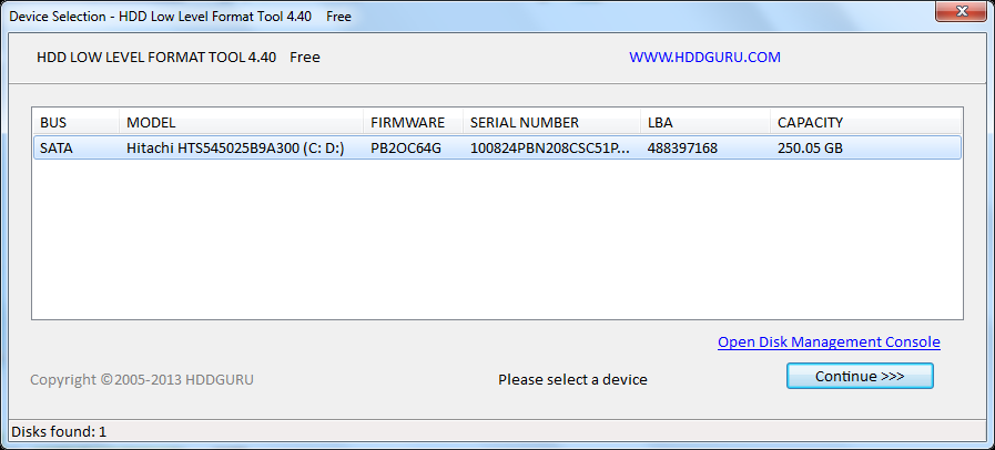 Hdd Low Level Format Tool 4