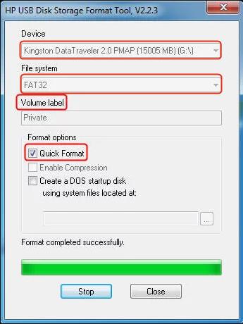 Hp Format Tool
