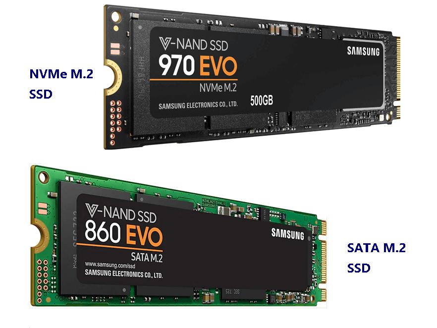 NMVe M.2 VS SATA M.2