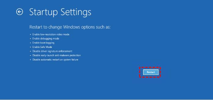 Server 2016 Restart