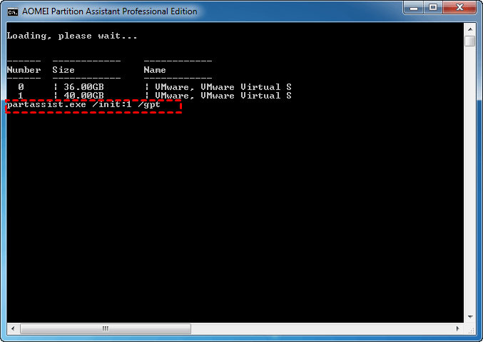 Initialize Disk to GPT