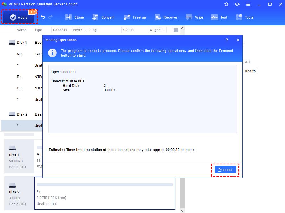 Apply 3tb