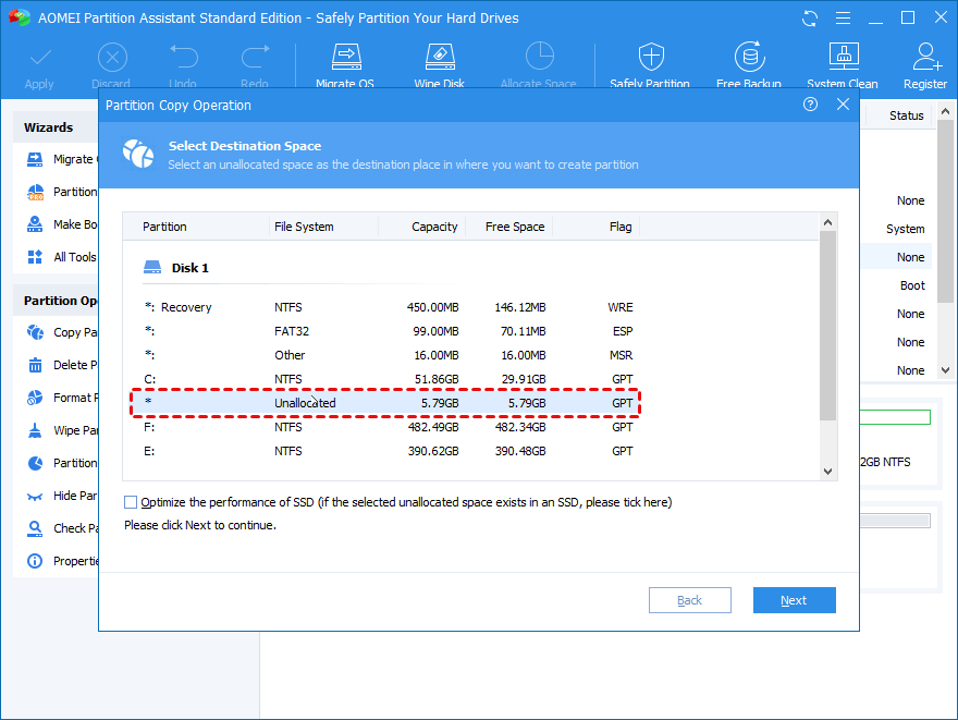 Move System Reserved Partition to Another Drive Safely