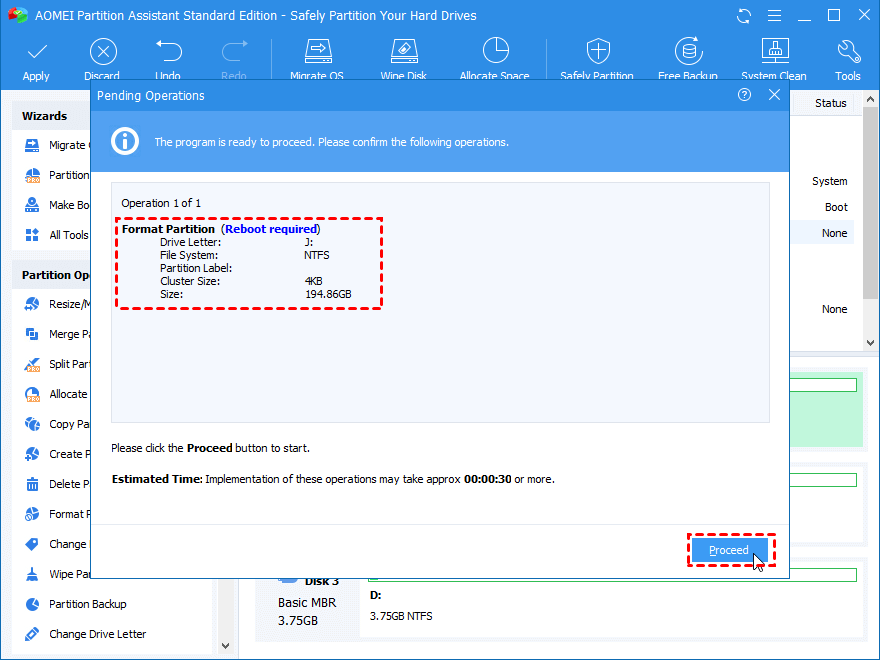 How to Change Cluster Size of Volume without Data Loss?