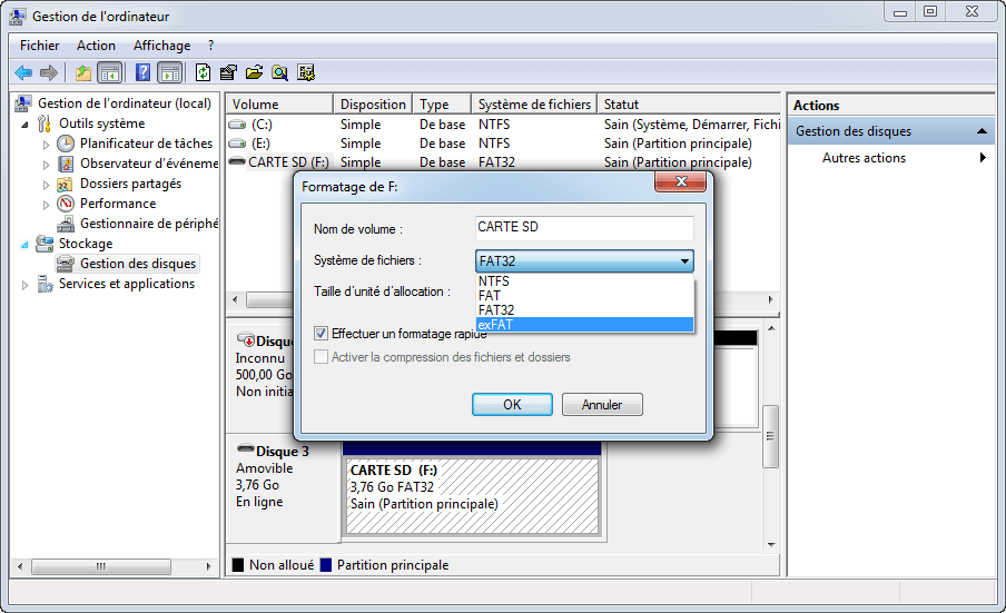 Format ext4 Windows 10