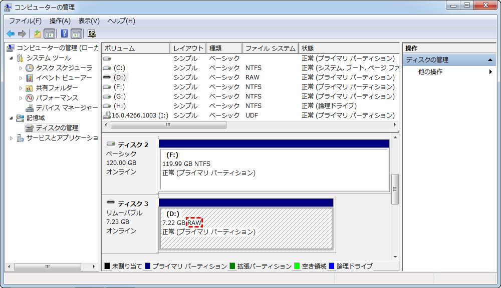 ファイルシステム