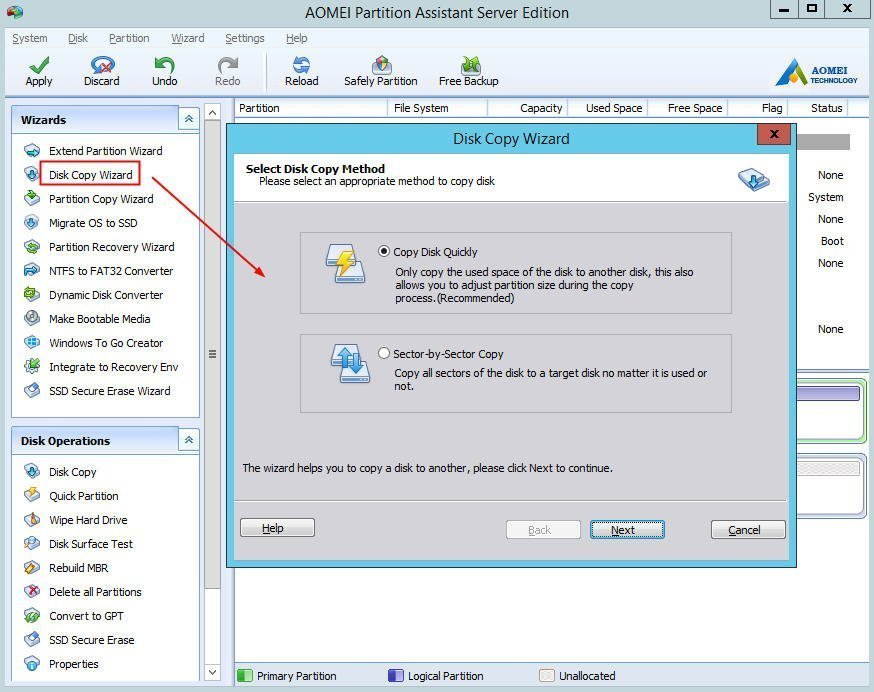 how to copy data from hdd to ssd
