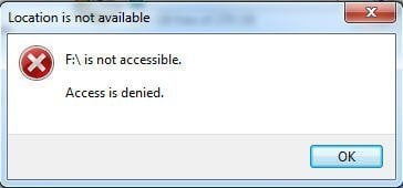 F is not accessiable