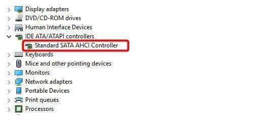 AHCI Controller