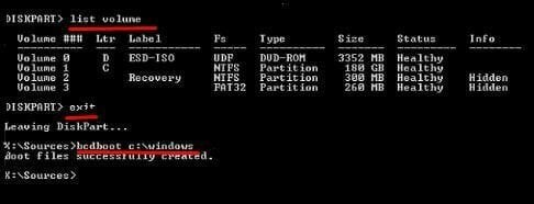 Create EFI Boot Partition 2