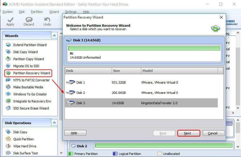 how to change recovery partition to primary windows 10