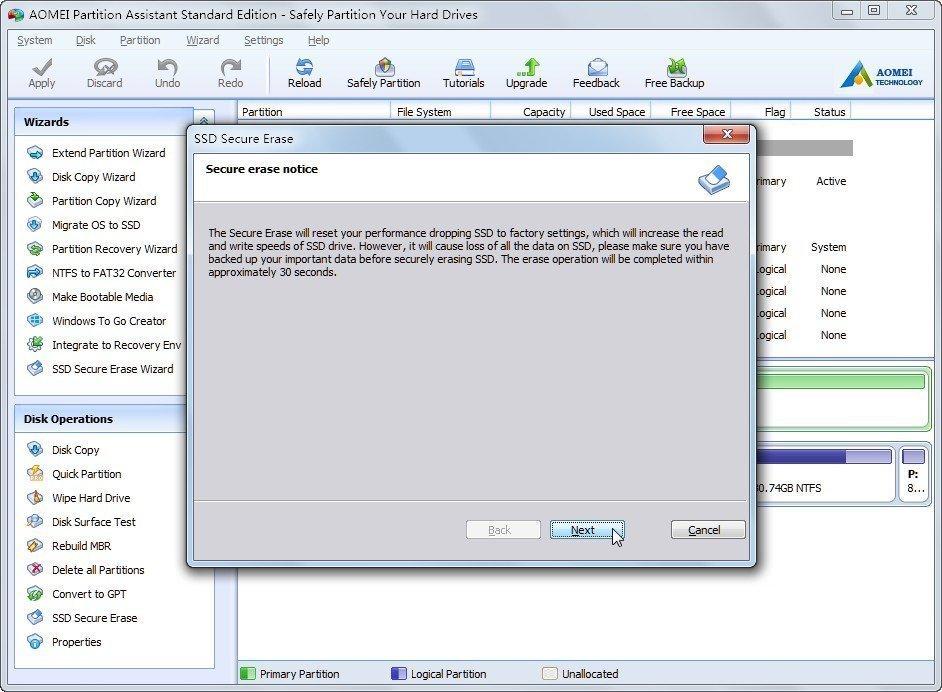 windows 7 secure delete
