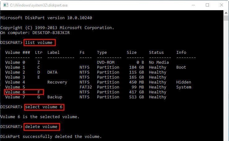 How to Use DiskPart Commands in Windows 10?