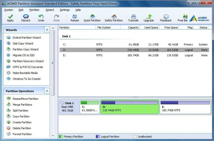 partition software for windows 10 free download