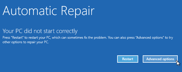 Automatic Repair