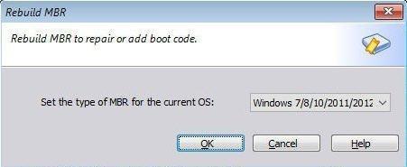 Choose Current OS
