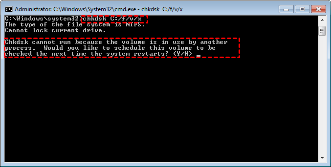 Fix Corrutped File System