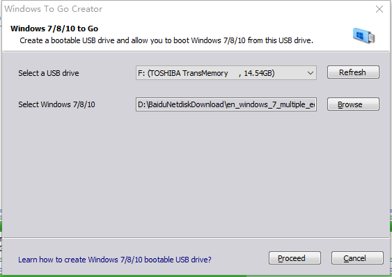 install windows 7 bootable usb flash drive